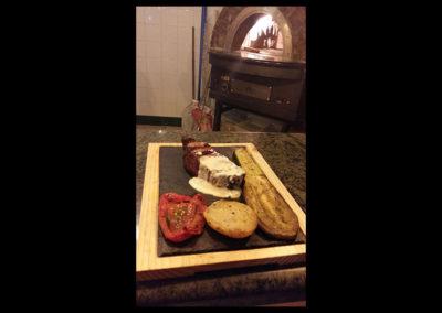 Carnes y verduras a las brasas